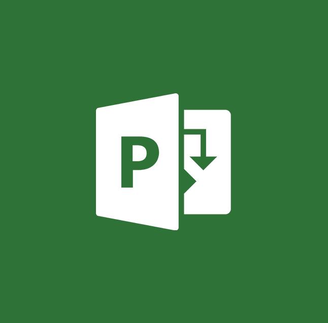 Microsoft Project Logo for Microsoft Software Training
